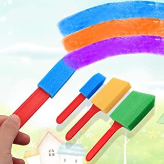 DSstyles Paintbrushes,Painting Sponge Painting,School Things,Stationery School Supplies,Paint Kit Drawing Toddlers Tool, 3pcs