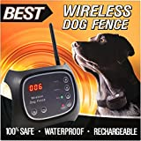 Best Wireless Dog Fence (NEW & IMPROVED 2018 VERSION) - Rechargeable...