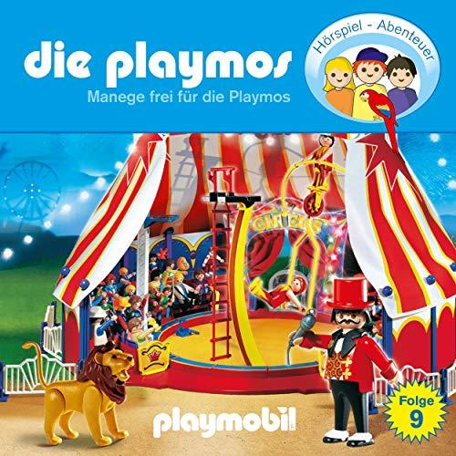 Manege frei für die Playmos. Das Original Playmobil Hörspiel Titelbild