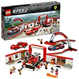 LEGO Speed Champions - Le stand Ferrari - 75889 - Jeu de Construction