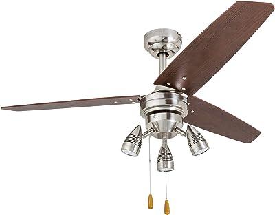 Honeywell Ceiling Fans 51583-01 Civa Ceiling Fan, 48, Nickel