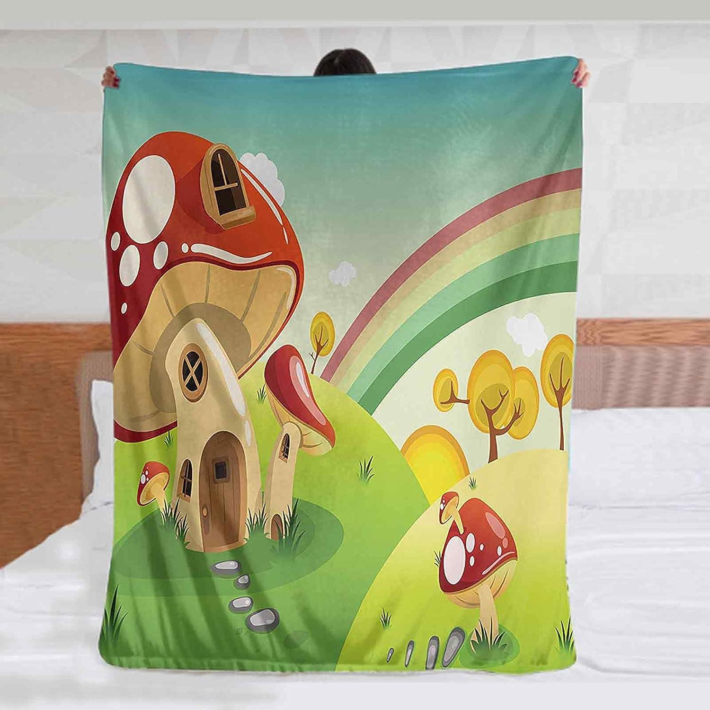 Mushroom Custom Blanket 50