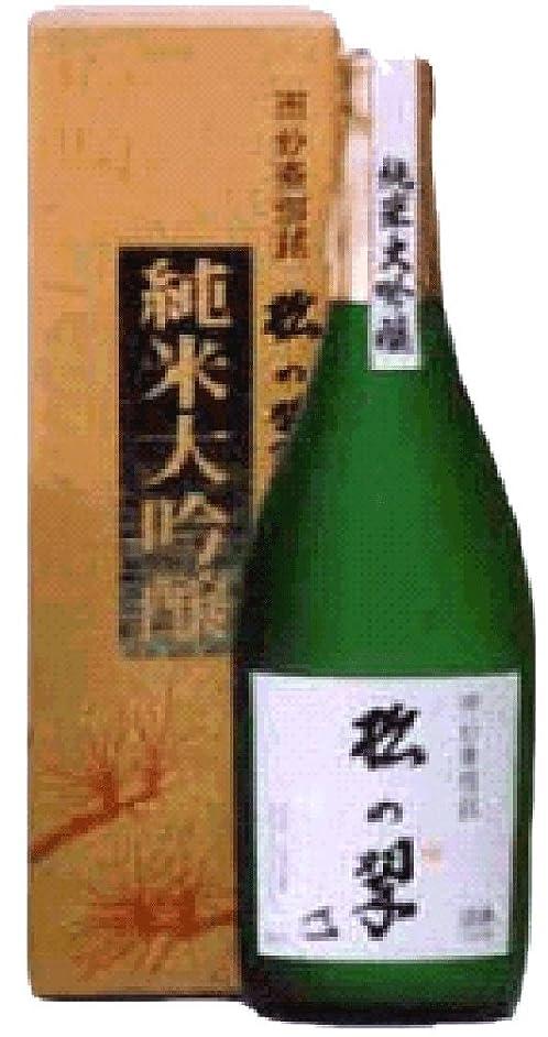 そこバルセロナトークン上撰 神聖 松の翆 純米大吟醸720ml 山本本家(京都)