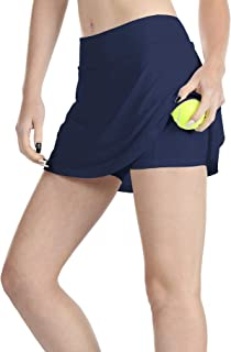 icyzone Athletic Skirts for Women - Workout Running Golf Tennis Skort with Pockets