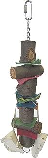 YML Wooden Rawhide Bird Toy