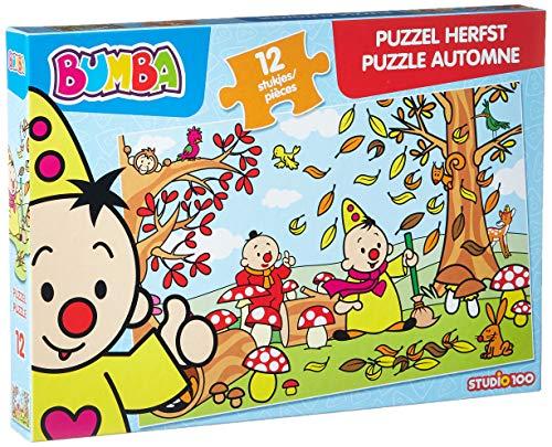 Studio100 MEBU00003720 Puzzel Bumba Herfst: 12 Stukjes, 12-36 mnd