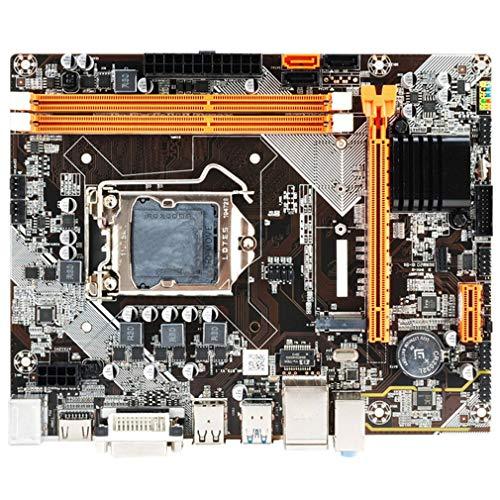 DDR3 1155 Pin Segunda Tercera Generación I3 I5 I7 CPU B75 / H61 para Placa Base (Negro 19 * 17cm)