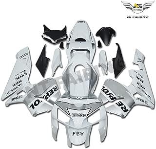 Plastic Silver Repsol Bodywork Fairing Fit for Honda 2005 2006 CBR600RR CBR 600RR Injection Mold ABS New Aftermarket Bodyframe Kit Set 05 06