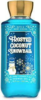 Bath and Body Works Frosted Coconut Snowball 2019 Edition with Shea and Vitamin E Shower Gel 10 fl oz / 295 mL