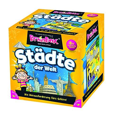 Brain Box 94944 Städte der Welt, Lernspiel, Quizspiel für Kinder ab 8 Jahren