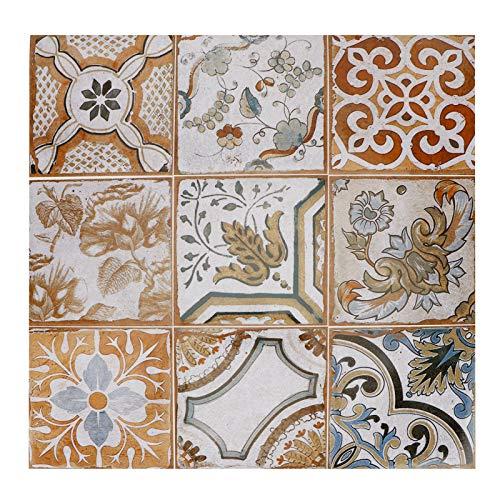 Adhesivo para azulejos a prueba de agua fácil de PVC de alta calidad, seguro para el medio ambiente, para decoración de habitaciones, adhesivo para azulejos para el piso del hogar