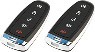 fits 2011-2019 Ford Lincoln Smart Key Fob Keyless Entry Remote (M3N5WY8609), Set of 2