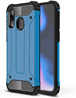 PICKQIU Case for Nokia 8.1 Plus, Heavy Duty Case,Shockproof Tough Armour Military Metal Case 360 Full Body Protective Case Cover for Nokia 8.1 Plus Smart phone -blue