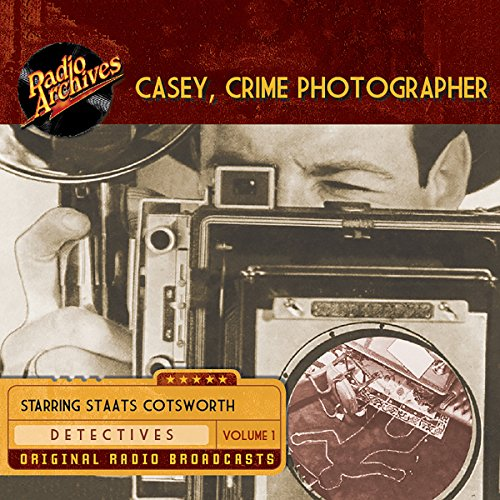 Casey, Crime Photographer, Volume 1 copertina
