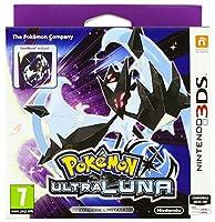 Include: versione fisica Pokémon Ultra Luna + Steelbook Una nuova avventura Pokémon ambientata nel mondo di Pokémon Luna con nuovi Pokémon, avvincenti risvolti narrativi e nuove funzioni di gioco