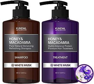 [KUNDAL公式]クンダル プレミアムヘアケアスペシャルセット ホワイトムスク・シャンプー500ml&トリートメント500ml Premium Hair Care Special SET White Musk・アミノ酸・ノンシリコン・ノンパラ...