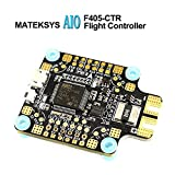 LITEBEE Matek AIO F4 Controladora De Vuelo + PDB 4 * 30A + Bateflight OSD + BEC Flight Controller (SD Card Slot, VCP+5X UARTs, Current Sensor 200A) for FPV Racing RC Drone Quadcopter by