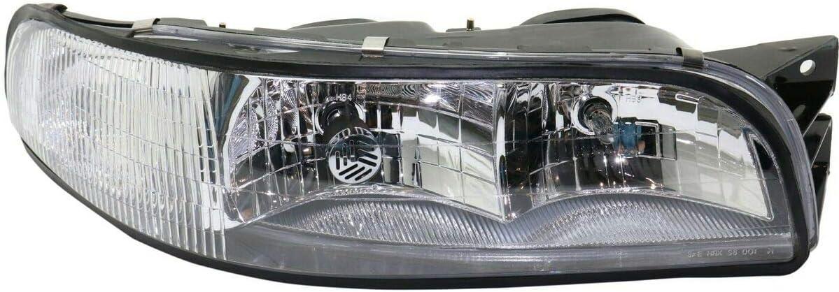 Headlight Compatible with 捧呈 97 新作からSALEアイテム等お得な商品満載 98 LeSabre Custom Limited Buick 99