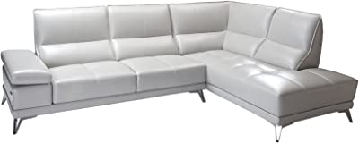Enjoyable Amazon Com Bergamo Sectional Sofa W Sleeping Option In Pabps2019 Chair Design Images Pabps2019Com