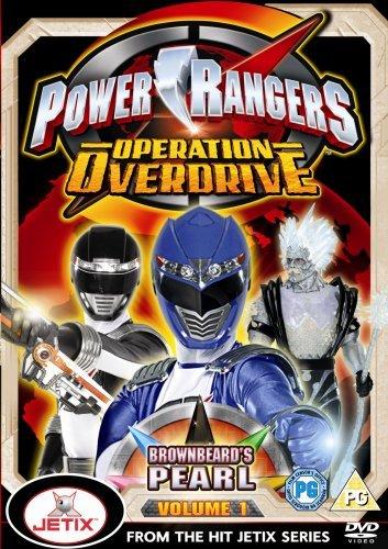 Power Rangers Operation Overdrive Volume 1 [Reino Unido] [DVD]