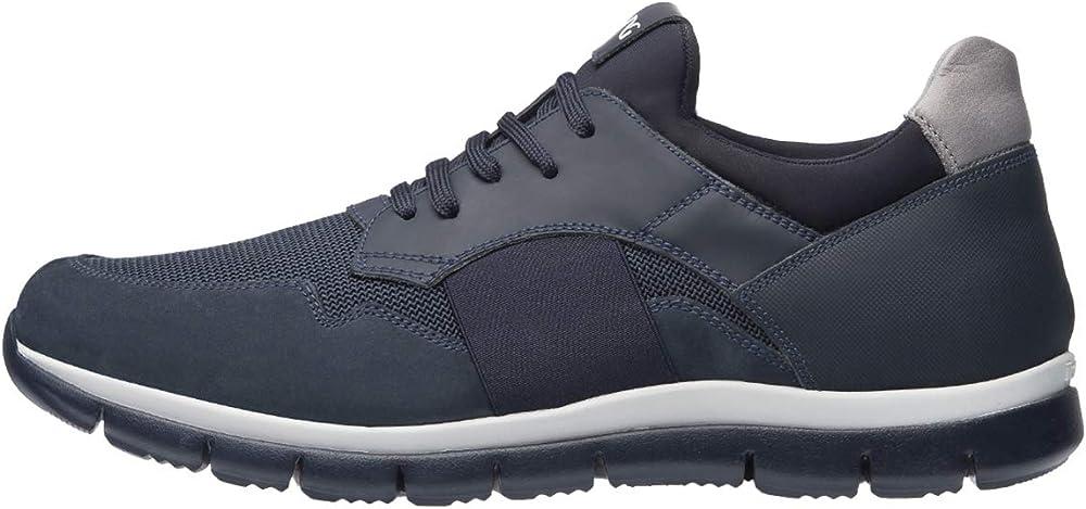 Nero giardini sneakers uomo in pelle A901212U 217
