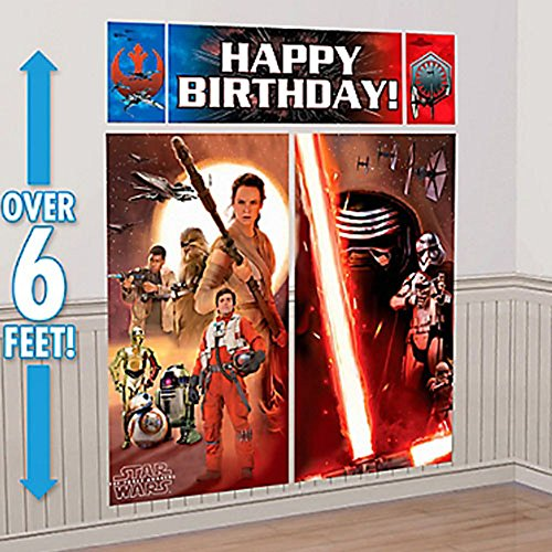 Star Wars Episode VII Poster Mural kit de décoration (5pc)