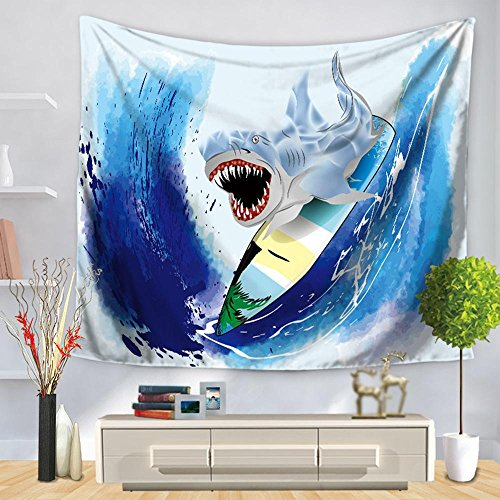 TUNBG muurbeugel voor wandtapijt, de marinelabeswand hangende achtergrond decoratie schild