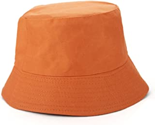 Opromo Unisex Reversible Cotton Bucket Hat Sun Outdoor Fishing Hat Fisherman Cap