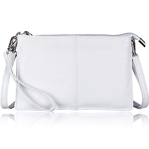 623505cf1 Befen Women's Soft-Feel Genuine Leather Smartphone Leather Wristlet Crossbody  Wallet Clutch Purse with Crossbody