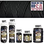 TOUGH-GRID 750lb Paracord/Parachute Cord - Genuine Mil Spec Type IV 750lb Paracord Used by The US Military (MIl-C-5040-H) - 100% Nylon - Made in The USA. 10