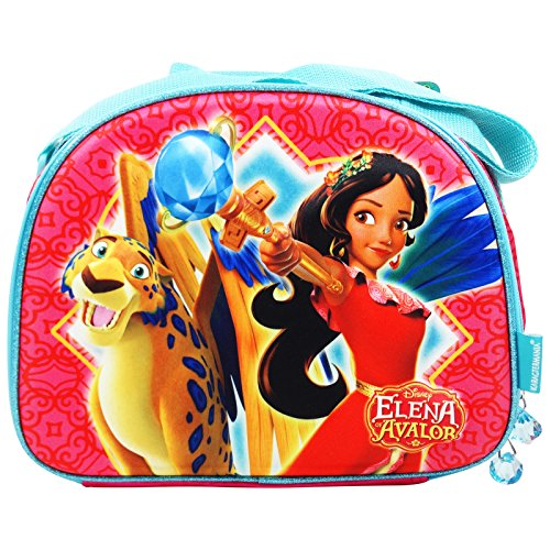 Disney Elena of Avalor - Sac Puor Le Petit-dèjeneur 3D - pour Les Enfants - Couleur Multicolor