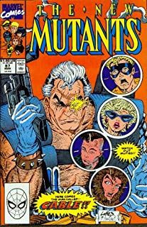 New Mutants #87 First Appearance of Cable 1st Printing