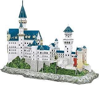 CubicFun World's Great Architectures MC062h Germany Neuschwanstein Castle 3d Puzzle, 121 Pieces