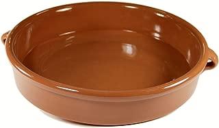 Peregrino Terra Cotta Cazuela Dish, Round - 12.8 inch