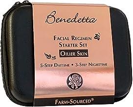 product image for Benedetta Facial Regimen Travel & Gift Set - Ylang Ylang for Oily Skin - Oily Reducing, Skin Balancing, Moisturizing, Anti-aging, Strengthen Epidermis