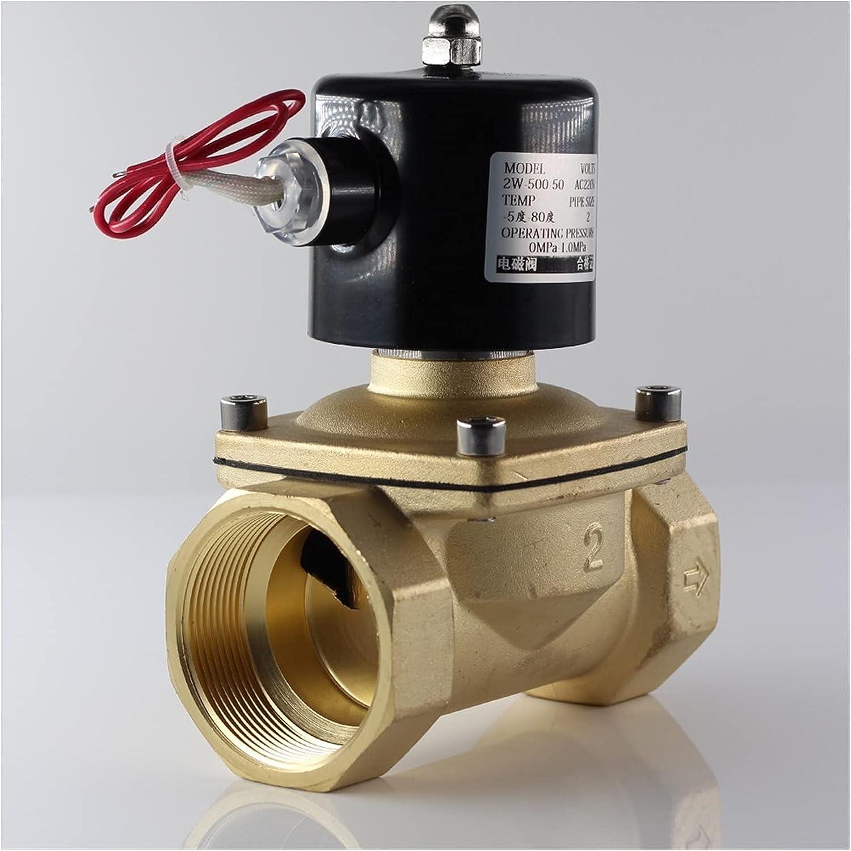 electroválvula 22 0VAC 12VDC 24VDC Bobina de carcasa de hierro Normalmente válvula solenoide cerrada para agua, aceite, aire, G1 / 4