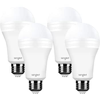 UL Listed AC120V E26 40W Equivalent 500lm safelumin SA19-450U27 3PK LED Emergency Light Bulbs for Home Safety During a Power Outage Battery Backup Lasts 3Hrs 2700K Warm White, 3 Pack