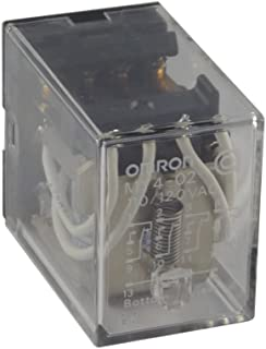 OMRON INDUSTRIAL AUTOMATION MY4 02 110/120AC POWER RELAY, MINIATURE, 4PDT, 110VAC, PLUG IN