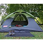 Coleman Sundome 3 Person Tent (Green and Navy color options)