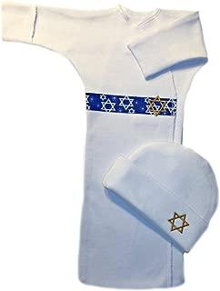 Jacqui's Unisex Baby Jewish Celebrations Bunting Gown Set - 4 Sizes!