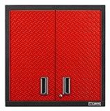 Gladiator GAWG302DDR Premier Steel Cabinet, Red Tread