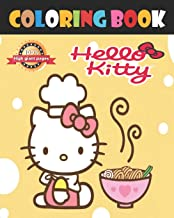 Hello Kitty Coloring Book: Jumbo Kitty Sanrio Hello Big Drawings coloring Book for Kids all ages And Adults, Kawaii Hello ...