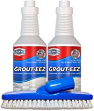 IT JUST Works! Grout-EEZ Super Heavy Duty Tile & Grout Cleaner and Whitener. Quickly Destroys Dirt & Grime. Safe for All G...