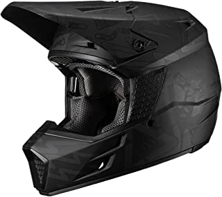 Leatt GPX 3.5 V19.3 Adult Off-Road Motorcycle Helmet - Tribe Black/Medium