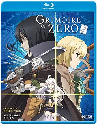 Grimoire Of Zero Blu-Ray(ゼロから始める魔法の書 全12話)