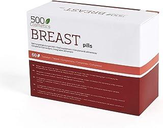 comprar comparacion 500Cosmetics Breast - Complemento Natural para la mujer - Fabricado en la UE - 60 Tabletas. (1)