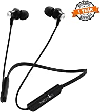 Three Dots Lifestyle Sports Bluetooth Wireless Neckband Earphone/Headphone with Immersive Stereo Sound and Hands-Free Mic with 7 Hour Battery Backup