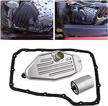 Transmission Filter Kit,4x4 Deep Pan Transmission Solenoid Fluid Change Filter Service Gasket Kit For 45RFE 545RFE 68RFE 4WD 3.7 L 4.7L 5.7L 2.8L, For Jeep Liberty 2003-2007 5 SP R/4WD L4 2.5L/2.8L
