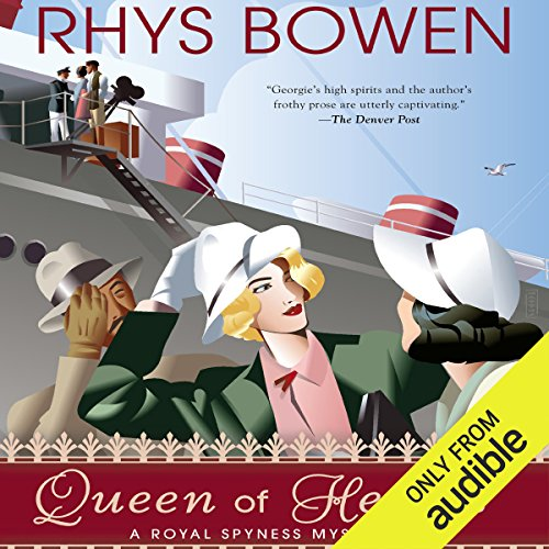 Queen of Hearts audiobook cover art
