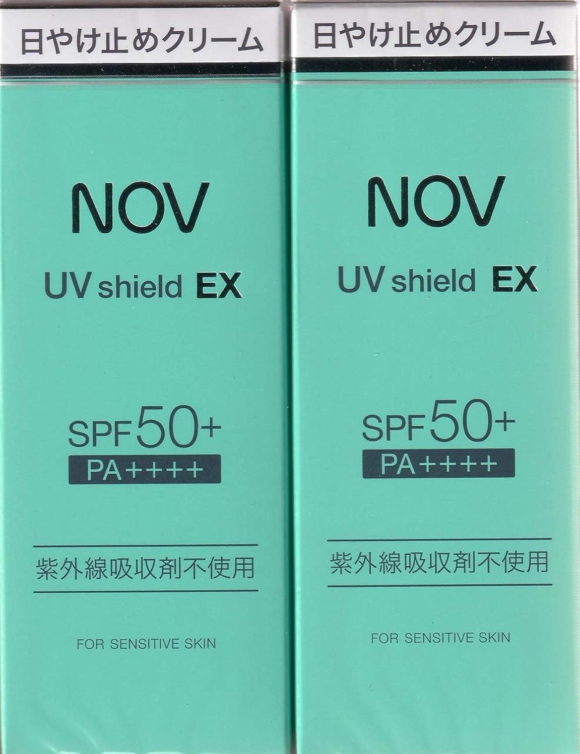 ダイアクリティカルアライメント結果としてノブ UVシールドEX 30g?2本セット
